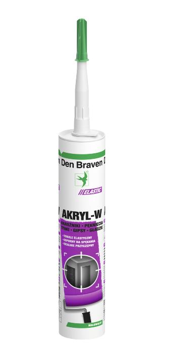 Akryl-W  300 ml   Den Braven