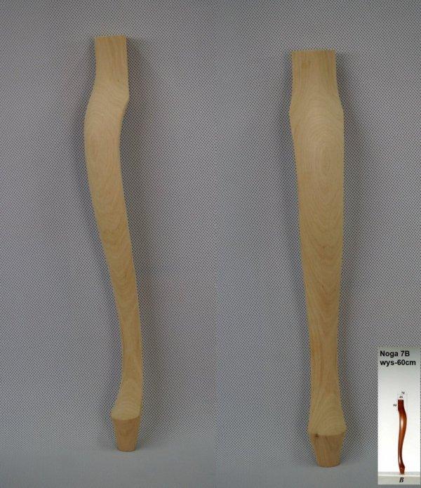 Noga drewniana do mebli 7-B