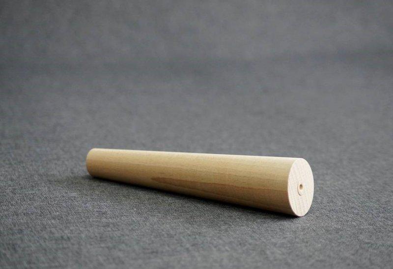 Noga drewniana w kształcie stożka  A-15 /skos/
