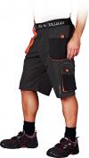 stalowo-czarno-pomarańczowy