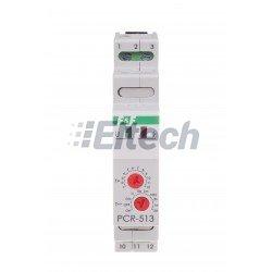 PRZEKAŹNIK CZASOWY  PCR-513 24V AC/CD OPÓŹN. ZAŁ.