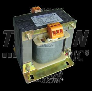 Zwykły transformator jednofazowy 230V / 24-230V, max.300VA TVTR-300-F