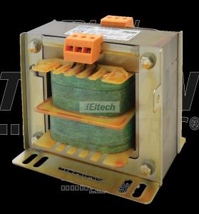 Transformator bezpieczeństwa, jednofazowy 230-400V / 24-230V, max.600VA TVTRB-600-F