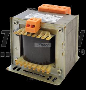 Zwykły transformator jednofazowy 230V / 12-24-42V, max.400VA TVTR-400-C