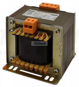 Zwykły transformator jednofazowy 230V / 24-230V, max.500VA TVTR-500-F