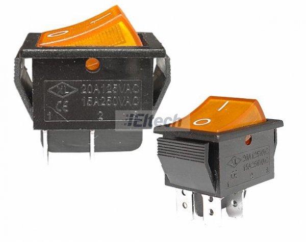 Przełącznik MK621 żółty