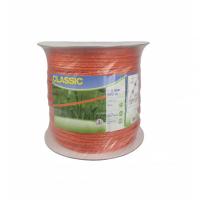 Linka CLASSIC 500m, 6mm, 6x0,20mm Inox, pomarańczowa