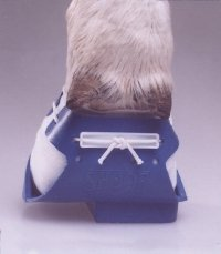 But leczniczy - LEWOSTRONNY niebieski - 125mm