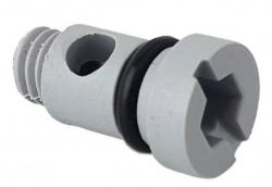 Zawór rurowy do poidła K75,HP20 - śruba regulująca kolanka mosiężnego