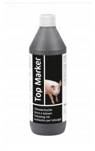 Tusz do tatuowania TopMarker, czarny, 1000 ml