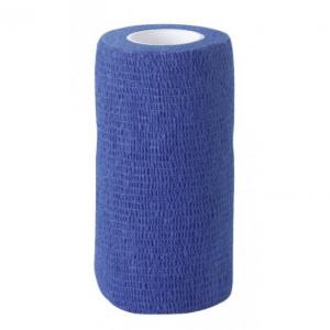 Samonośny bandaż EquiLastic, 10 cm, 4.5m, niebieski