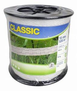 Taśma CLASSIC 500m 10mm biała