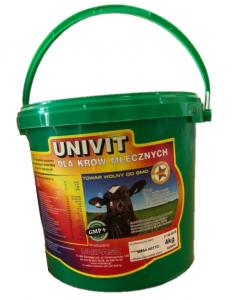 UNIVIT dla krów mlecznych 4kg