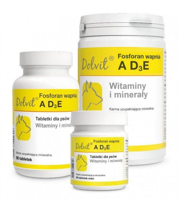 Dolvit Fosforan wapnia ADзE - witaminy, minerały