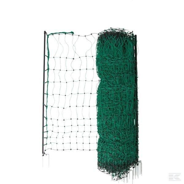 Siatka ogrodzeniowa dla drobiu podwójny szpic, 112cm, 50m
