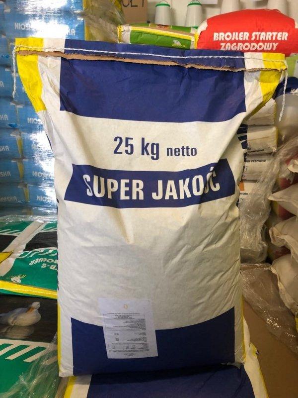 Mieszanka pełnoporcjowa dla ryb 25% białka 1 kg