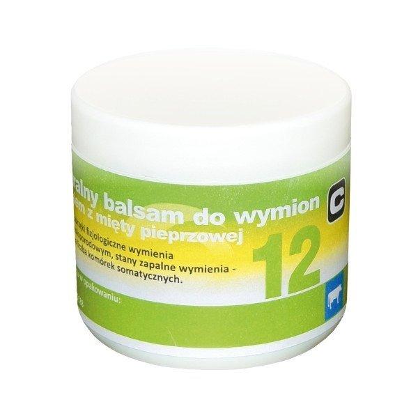 """Balsam z olejkiem z mięty pieprzowej """"12"""", 500 ml"""