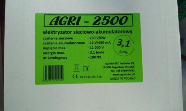 Agri-2500