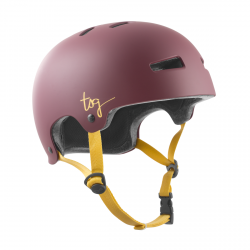 Kask TSG Evolution Women Solid Color Satin Plum Red