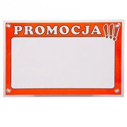 Tabliczka informacyjna dwustronna - PROMOCJA