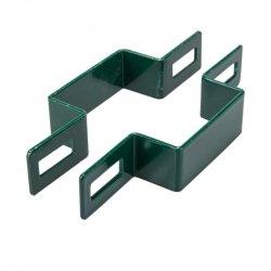 Obejma pośrednia 40x40 zielona - 1 sztuka