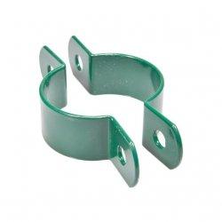 Obejma pośrednia 1 otwór fi48 - zielona - 25 sztuk