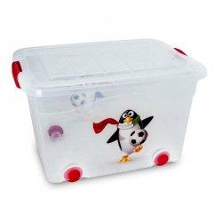 Pojemnik Roller Box (pingwin) z pokrywą 40L