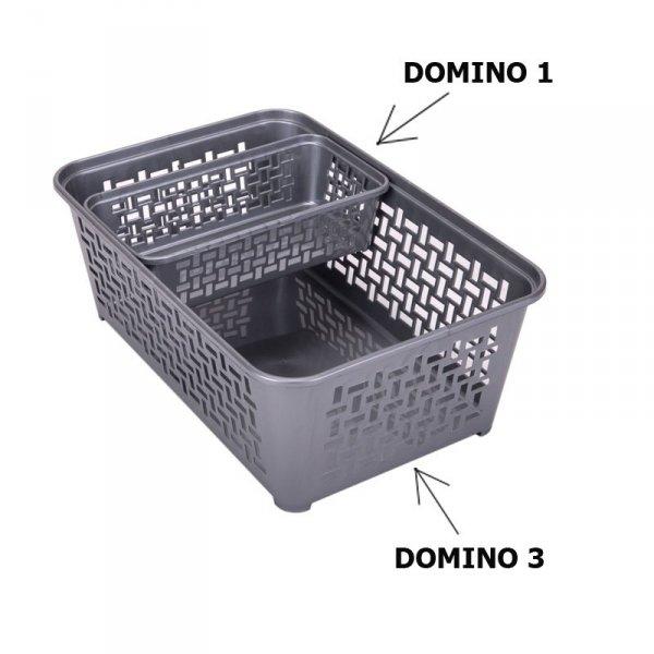 Koszyczek plastikowy DOMINO 1