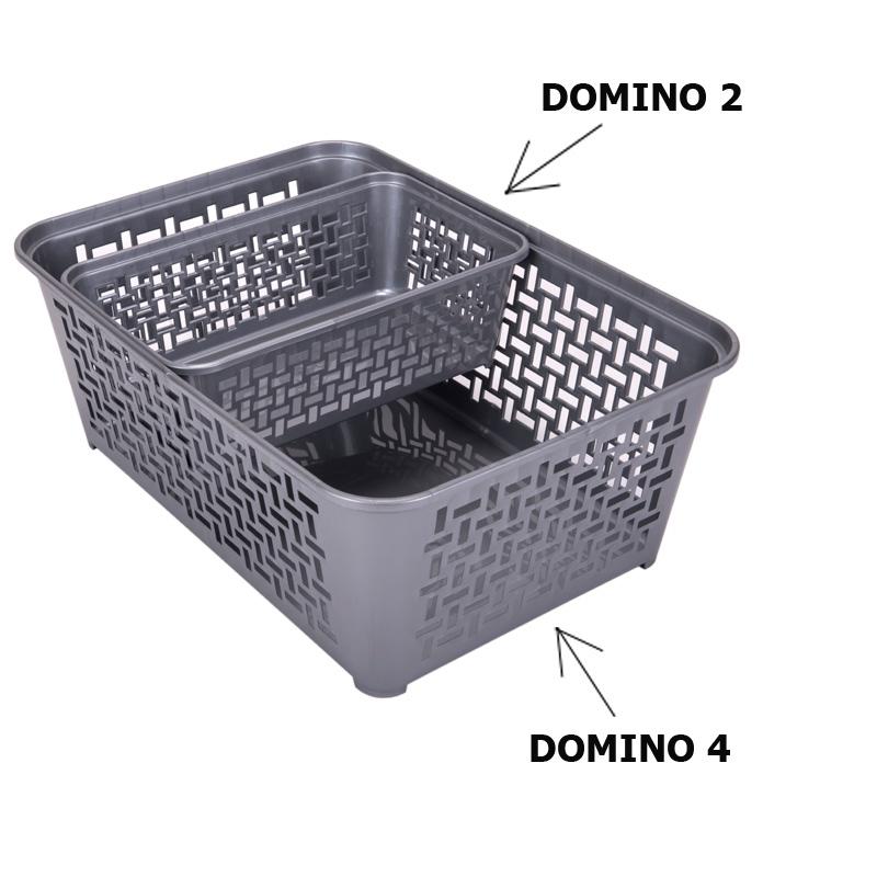 Koszyczek plastikowy DOMINO 2