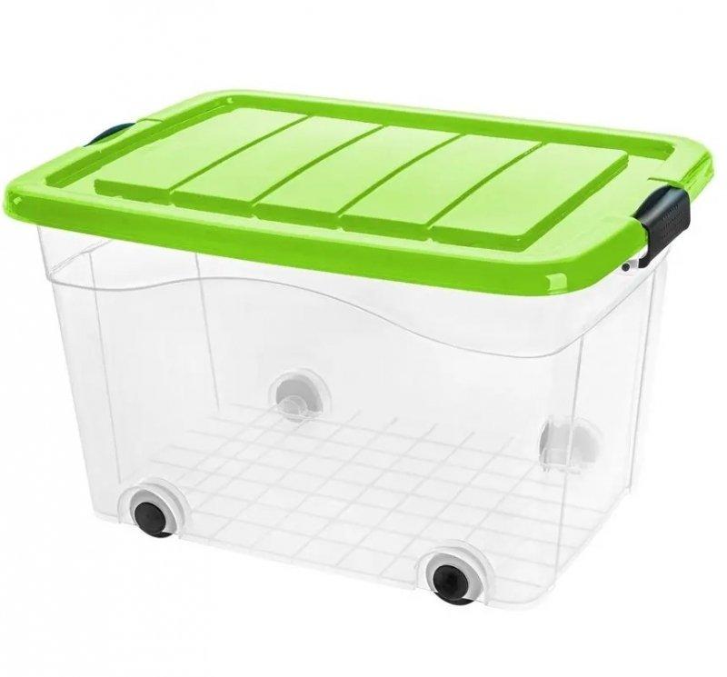 Pojemnik Roller Box z pokrywą 60L - kolory