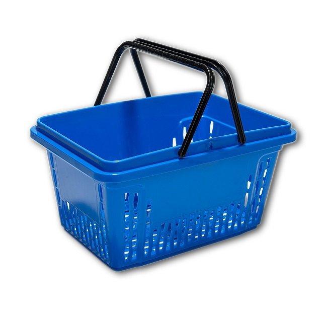 Koszyk sklepowy 28L - II rączki - kolory