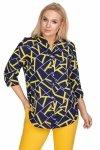 Granatowa-koszula-damska-plus-size-ZIGI2-xl-xxl-z-dekoltem-w-serek-dla-puszystych-do-pracy-elegancka