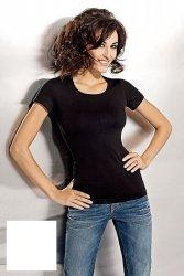 Tshirt Damski plus size L-XXL krótki rękaw WHITE