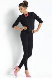 Legginsy Klasyczne Model Plush Adele Black