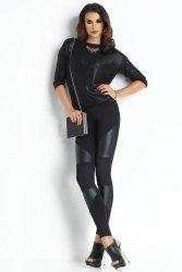 Legginsy Klasyczne Model Plush Annabell Black
