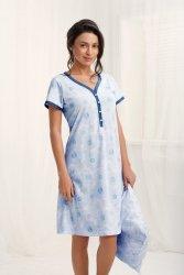 Koszula Nocna Model Gabriela 172 Grey/Blue