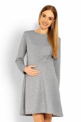 Sukienka Ciążowa Model 1359C Grey