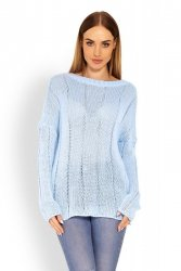 Sweter Damski Model 40007 Sky Blue