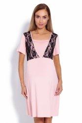 Koszula Nocna Ciążowa Model 1680 Powder Pink