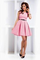 Sukienka Model 6-5 Pastelowy Róż
