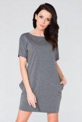 Sukienka Model T130 Grey