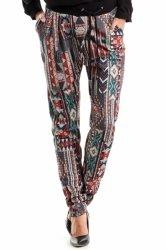 Spodnie Damskie Model MOE266 Boho Multicolor