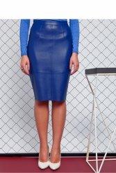 Prosta spódnica GR1102 Blue