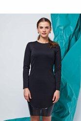 Sukienka o dopasowanym kroju GR1317 Black