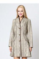 Płaszcz damski model P1 Beige