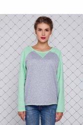 Elastyczna bluzka sportowa GR1160 Mint