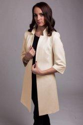 Gustowny płaszcz model PLA027