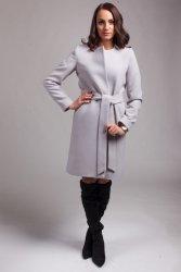 Płaszcz damski PLA025 gray