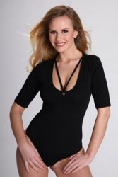 Body damskie XL DAGMAR Black