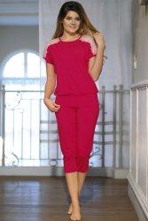 Piżama Model Gracja Light Rubin
